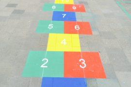 Wegmarkering Basisschool