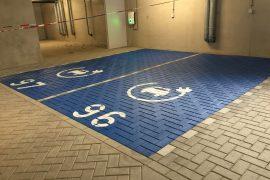 Garage Utrecht wegmarkering